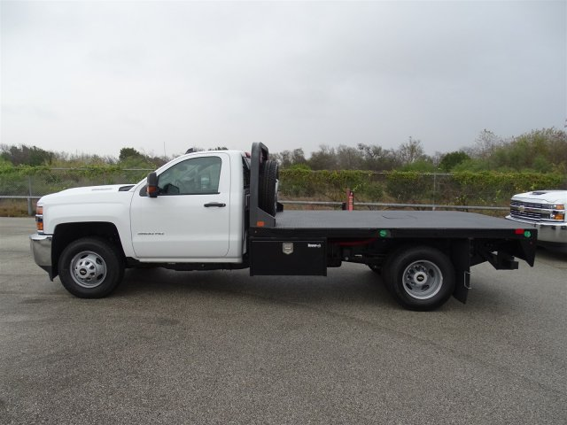 2018 Silverado 3500 Regular Cab DRW 4x4, CM Truck Beds Platform Body #CC81157 - photo 8