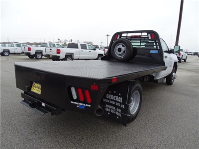 2018 Silverado 3500 Regular Cab DRW 4x4, CM Truck Beds RD Model Platform Body #CC81157 - photo 5