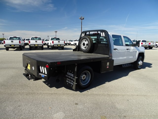 2018 Silverado 3500 Crew Cab DRW 4x4, CM Truck Beds RD Model Platform Body #CC81185 - photo 5