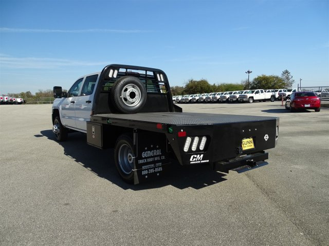 2018 Silverado 3500 Crew Cab DRW 4x4, CM Truck Beds RD Model Platform Body #CC81185 - photo 2