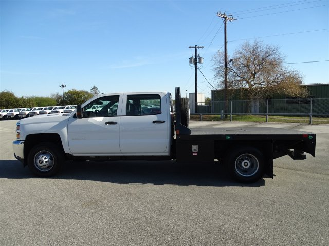 2018 Silverado 3500 Crew Cab DRW 4x4, CM Truck Beds RD Model Platform Body #CC81185 - photo 7