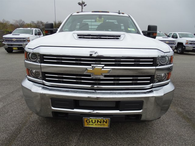 2018 Silverado 3500 Regular Cab DRW 4x4,  CM Truck Beds Platform Body #CC81226 - photo 11