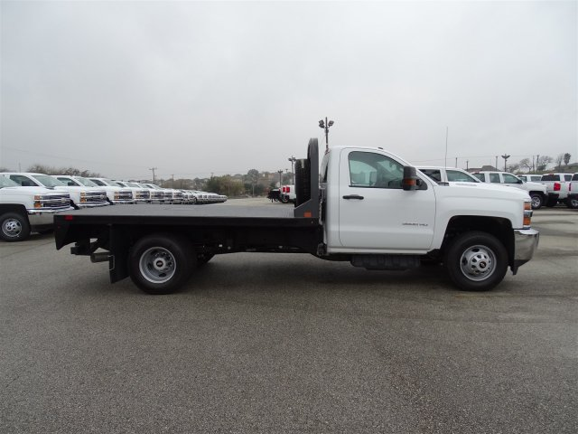 2018 Silverado 3500 Regular Cab DRW 4x4, CM Truck Beds Platform Body #CC81226 - photo 4