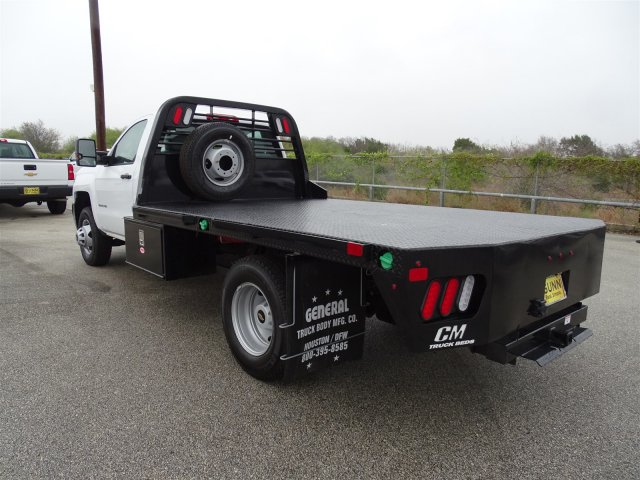 2018 Silverado 3500 Regular Cab DRW 4x4,  CM Truck Beds Platform Body #CC81226 - photo 2