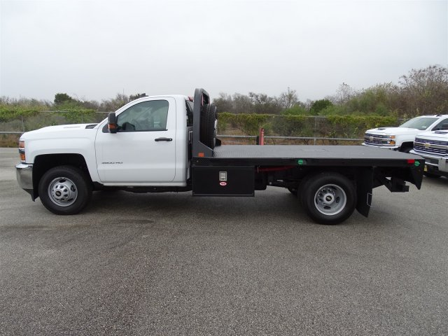 2018 Silverado 3500 Regular Cab DRW 4x4, CM Truck Beds Platform Body #CC81226 - photo 8