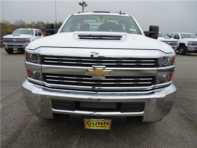 2018 Silverado 3500 Regular Cab DRW 4x4, CM Truck Beds RD Model Platform Body #CC81226 - photo 11