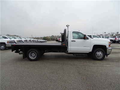 2018 Silverado 3500 Regular Cab DRW 4x4, CM Truck Beds RD Model Platform Body #CC81226 - photo 4