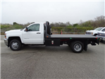 2018 Silverado 3500 Regular Cab DRW 4x4,  CM Truck Beds RD Model Platform Body #CC81226 - photo 8