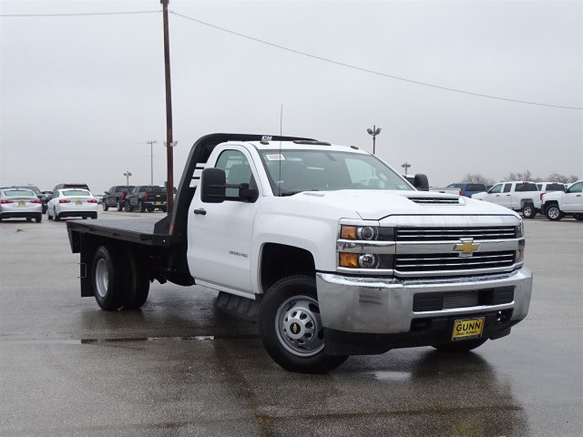 2018 Silverado 3500 Regular Cab DRW, CM Truck Beds Platform Body #CC81290 - photo 3