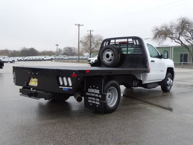 2018 Silverado 3500 Regular Cab DRW, CM Truck Beds Platform Body #CC81290 - photo 4