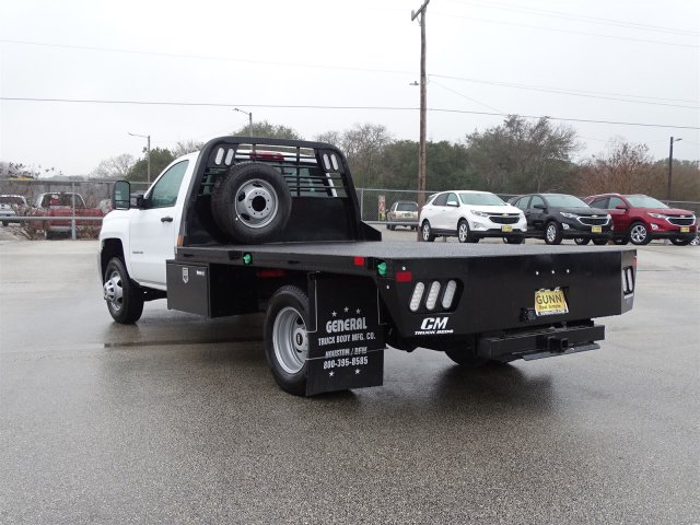 2018 Silverado 3500 Regular Cab DRW, CM Truck Beds Platform Body #CC81290 - photo 2