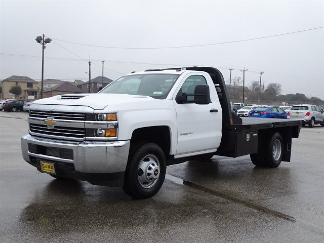 2018 Silverado 3500 Regular Cab DRW, CM Truck Beds RD Model Platform Body #CC81290 - photo 1