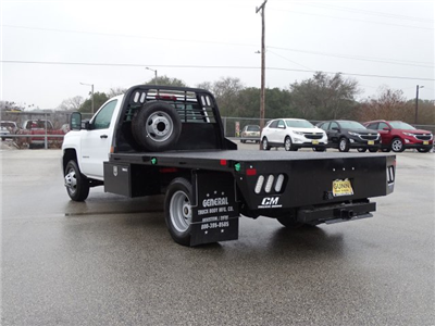 2018 Silverado 3500 Regular Cab DRW, CM Truck Beds RD Model Platform Body #CC81290 - photo 2