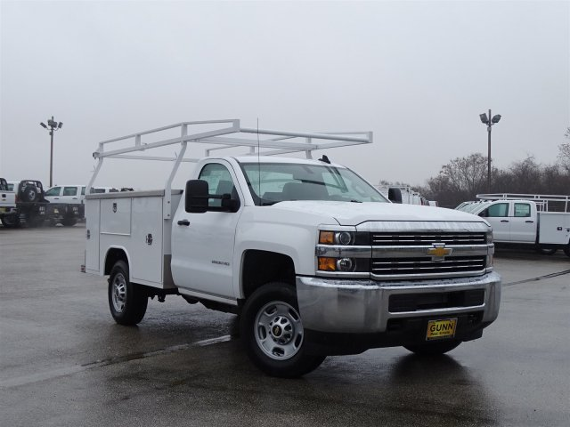 2017 Silverado 2500 Regular Cab, Harbor Service Body #CC81337 - photo 3