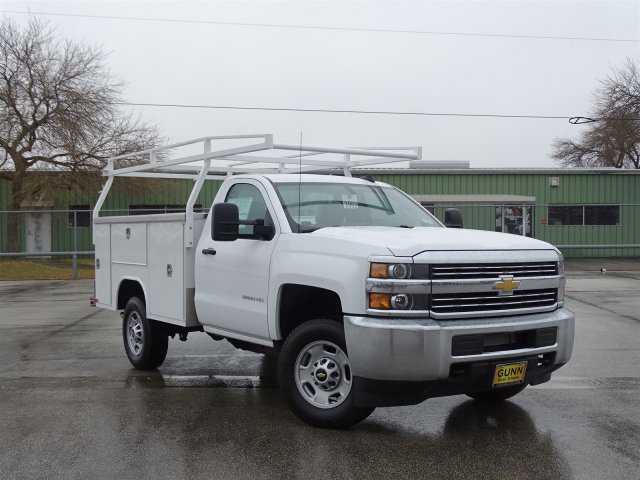2017 Silverado 2500 Regular Cab, Harbor Service Body #CC81338 - photo 3