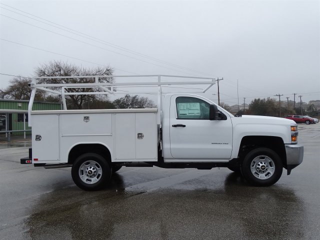 2017 Silverado 2500 Regular Cab, Harbor Service Body #CC81338 - photo 4