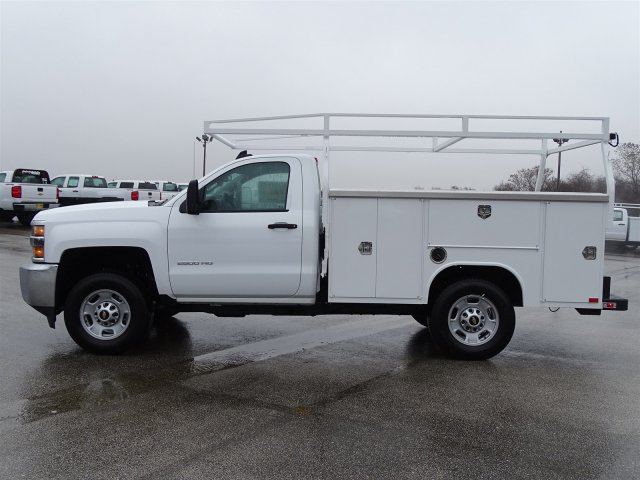 2017 Silverado 2500 Regular Cab, Harbor Service Body #CC81338 - photo 7