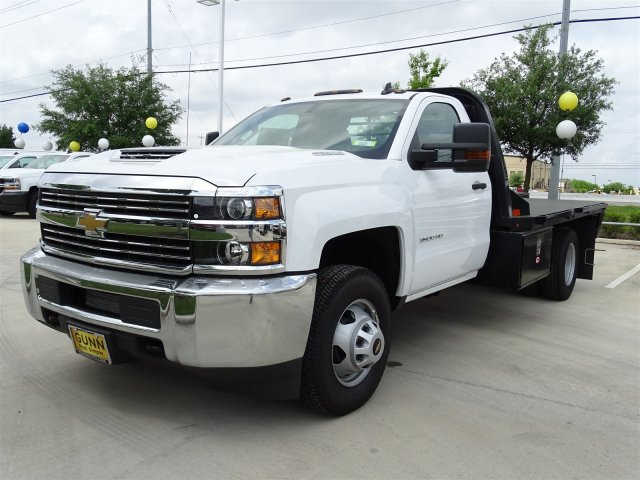 2018 Silverado 3500 Regular Cab DRW 4x4,  Platform Body #CC81352 - photo 1