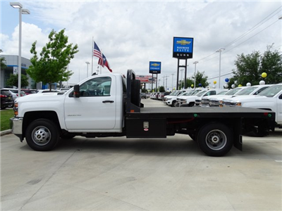 2018 Silverado 3500 Regular Cab DRW 4x4,  Platform Body #CC81352 - photo 10