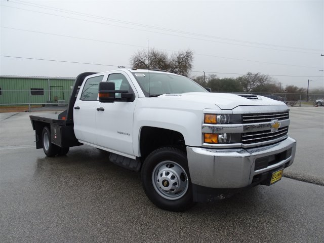 2018 Silverado 3500 Crew Cab DRW 4x4, CM Truck Beds Platform Body #CC81358 - photo 3