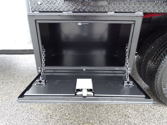 2018 Silverado 3500 Crew Cab DRW 4x4, CM Truck Beds Platform Body #CC81358 - photo 12