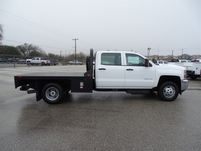 2018 Silverado 3500 Crew Cab DRW 4x4, CM Truck Beds Platform Body #CC81358 - photo 5