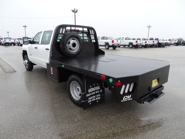 2018 Silverado 3500 Crew Cab DRW 4x4, CM Truck Beds Platform Body #CC81358 - photo 2