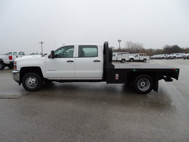 2018 Silverado 3500 Crew Cab DRW 4x4, CM Truck Beds Platform Body #CC81358 - photo 10