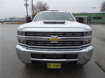 2018 Silverado 3500 Crew Cab DRW 4x4, CM Truck Beds RD Model Platform Body #CC81358 - photo 13
