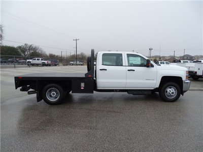 2018 Silverado 3500 Crew Cab DRW 4x4, CM Truck Beds RD Model Platform Body #CC81358 - photo 5