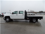 2018 Silverado 3500 Crew Cab DRW 4x4, CM Truck Beds RD Model Platform Body #CC81358 - photo 10