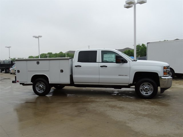 2018 Silverado 2500 Crew Cab 4x2,  Harbor Service Body #CC81599 - photo 4