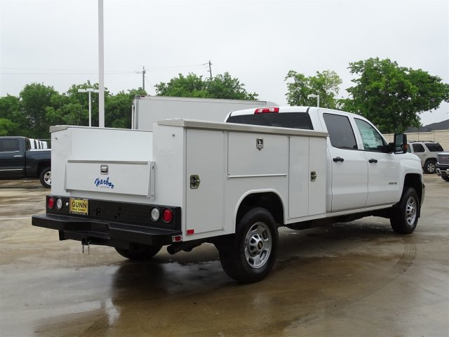 2018 Silverado 2500 Crew Cab 4x2,  Harbor Service Body #CC81599 - photo 5