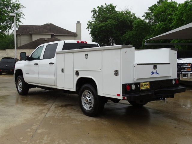 2018 Silverado 2500 Crew Cab 4x2,  Harbor Service Body #CC81599 - photo 2