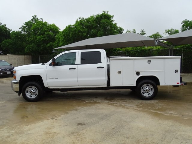 2018 Silverado 2500 Crew Cab 4x2,  Harbor Service Body #CC81599 - photo 10
