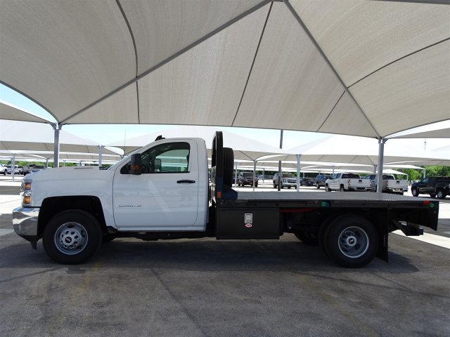 2018 Silverado 3500 Regular Cab DRW 4x4,  CM Truck Beds Platform Body #CC81600 - photo 5