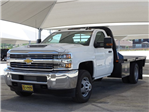 2018 Silverado 3500 Regular Cab DRW 4x4,  CM Truck Beds Platform Body #CC81600 - photo 1