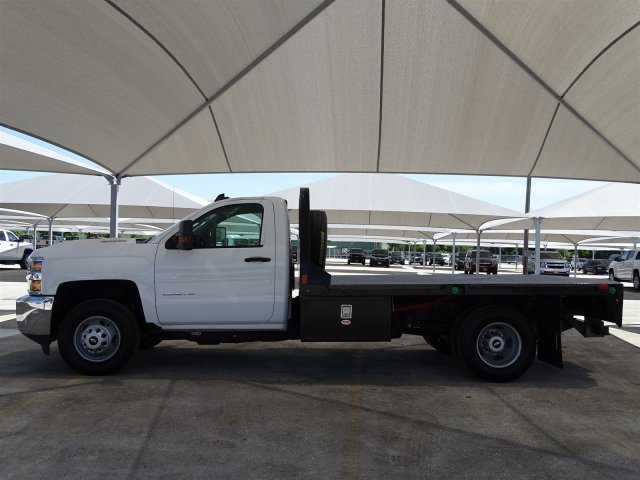 2018 Silverado 3500 Regular Cab DRW 4x4,  CM Truck Beds Platform Body #CC81601 - photo 5