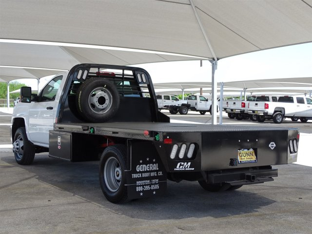 2018 Silverado 3500 Regular Cab DRW 4x4,  CM Truck Beds Platform Body #CC81601 - photo 2