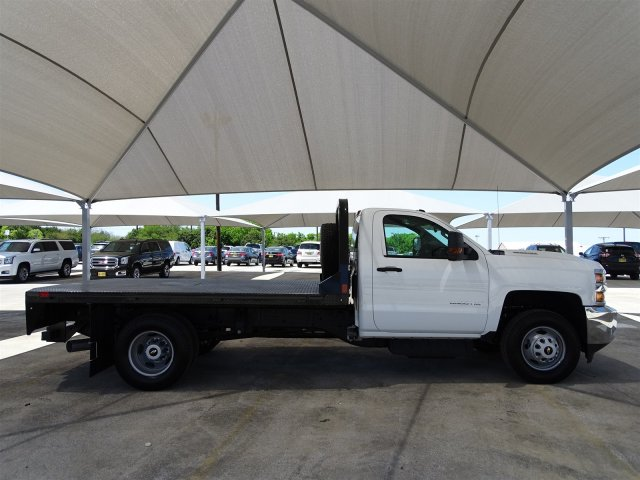 2018 Silverado 3500 Regular Cab DRW 4x4,  CM Truck Beds Platform Body #CC81601 - photo 8