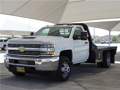 2018 Silverado 3500 Regular Cab DRW 4x4,  CM Truck Beds RD Model Platform Body #CC81601 - photo 1
