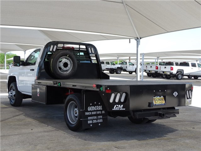 2018 Silverado 3500 Regular Cab DRW 4x4,  CM Truck Beds RD Model Platform Body #CC81601 - photo 2