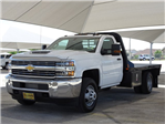 2018 Silverado 3500 Regular Cab DRW 4x4,  CM Truck Beds Platform Body #CC81601 - photo 1