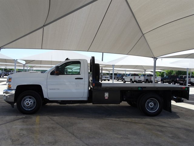 2018 Silverado 3500 Regular Cab DRW 4x4,  CM Truck Beds Platform Body #CC81602 - photo 5