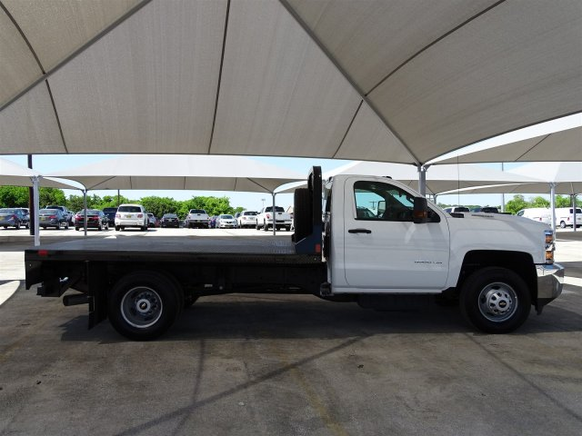 2018 Silverado 3500 Regular Cab DRW 4x4,  CM Truck Beds Platform Body #CC81602 - photo 8