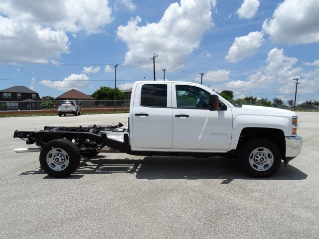 2018 Silverado 2500 Double Cab 4x2,  Cab Chassis #CC81787 - photo 4