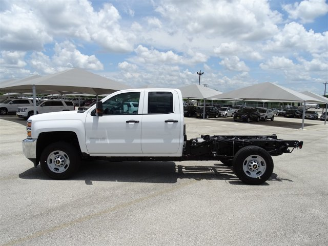 2018 Silverado 2500 Double Cab 4x2,  Cab Chassis #CC81787 - photo 8