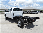 2018 Silverado 2500 Double Cab 4x2,  Cab Chassis #CC81787 - photo 1