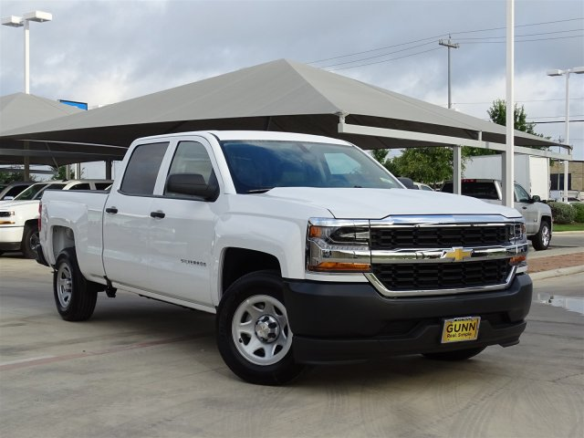 2018 Silverado 1500 Crew Cab 4x2,  Pickup #CC81821 - photo 3