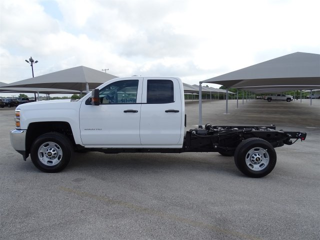 2018 Silverado 2500 Double Cab 4x4,  Cab Chassis #CC81840 - photo 8